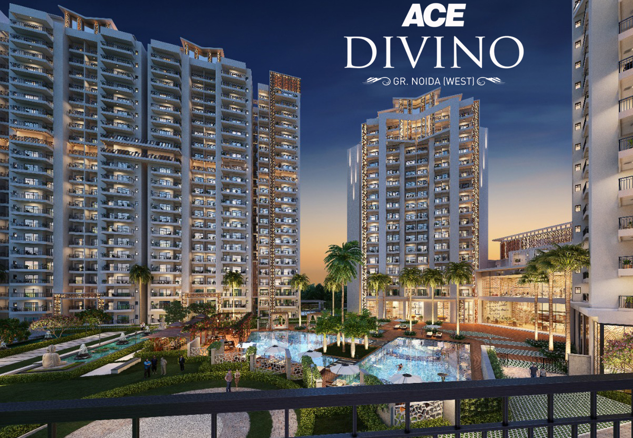 Great Ambience to Sooth Your Lifestyle with Happiness around  ACE Divino Noida Extension @9911487788